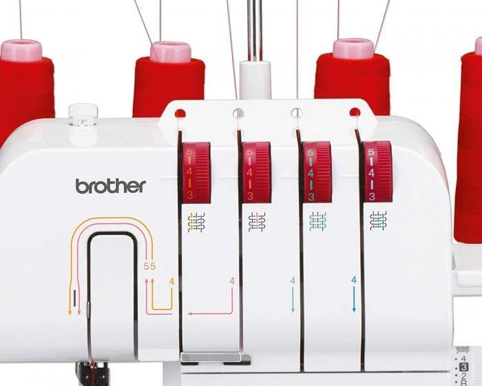 maquina overlock brother m343d comprar online