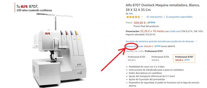 remalladora alfa profesional 8707 2020 mejor precio